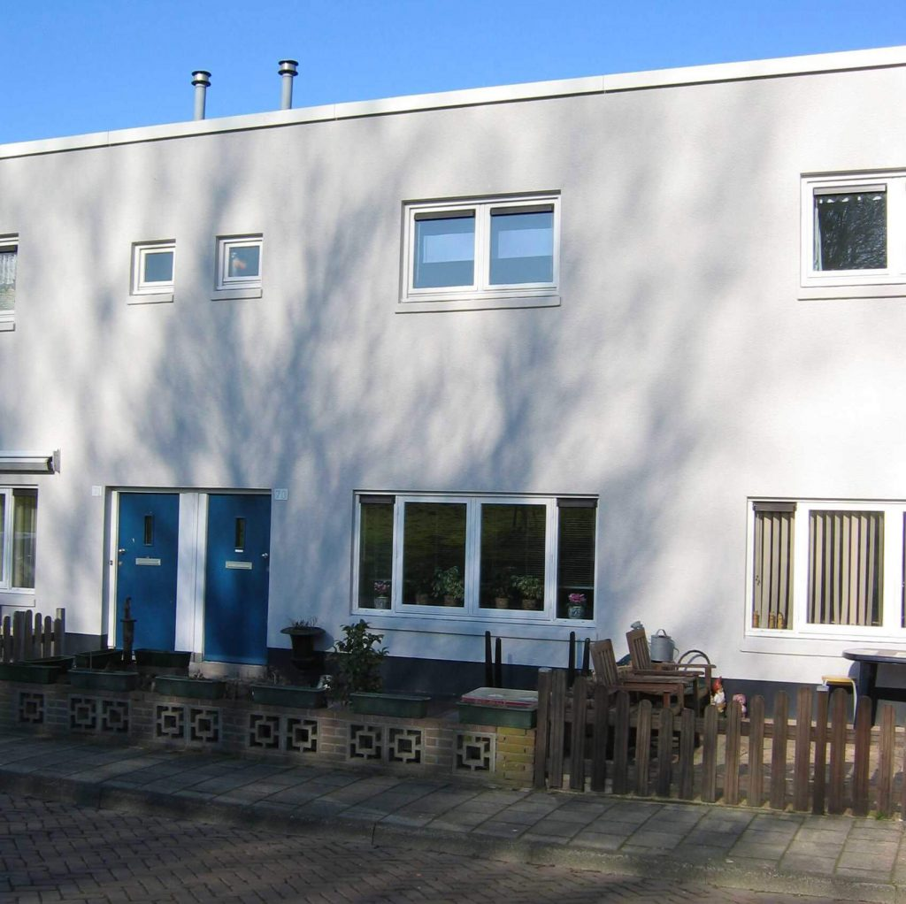 De foto is gemaakt op 14 februari 2008, afgebeeld is het huis waar ooit de familie Elzinga heeft gewoond. De foto is gemaakt door Frits Slicht - Alle rechten voorbehouden