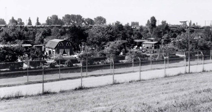 Tuincomplex Frankendael - 1993 . Foto: Beeldbank Amsterdam Alle rechten voorbehouden