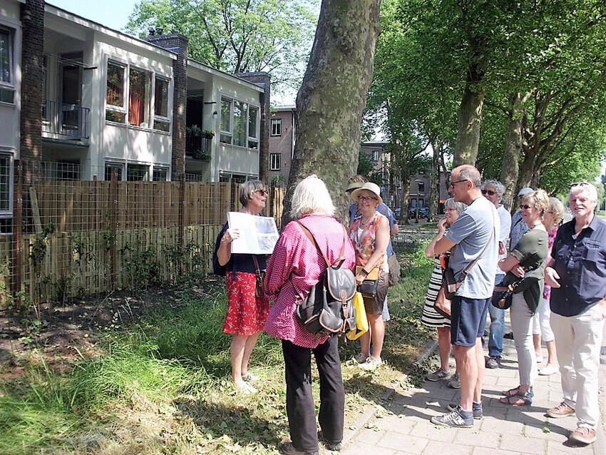 Achterkant Oudemanshof 32 - Foto: Jo Haen - Alle rechten voorbehouden