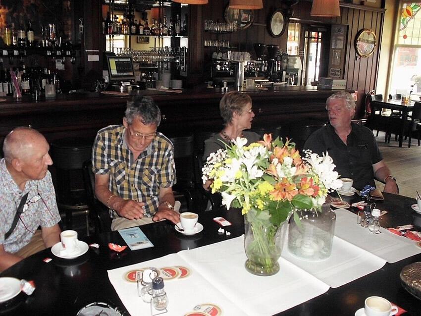 De 'nazit' in café Frankendael - Foto: John Haen - Alle rechten voorbehouden