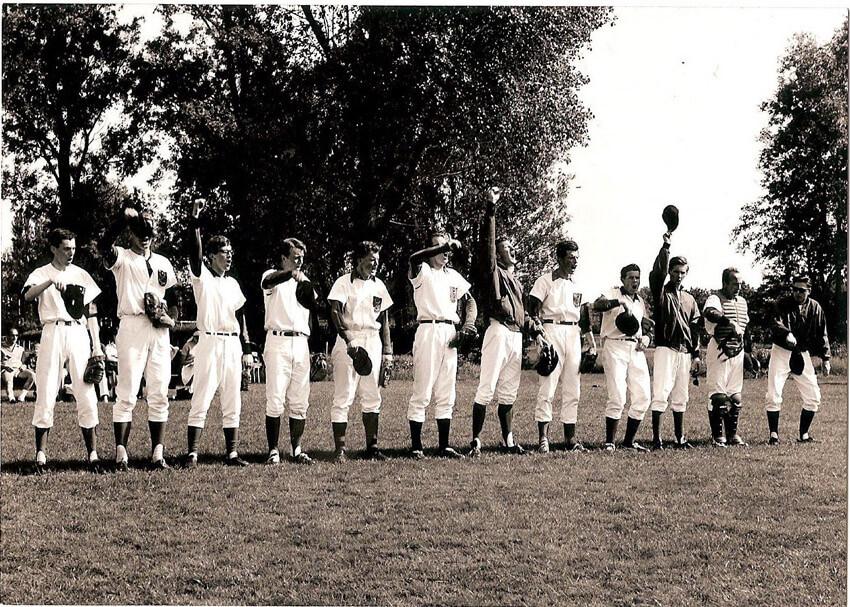 Geuzen Honkbal 1965 - Foto: Emile Simonis - Alle rechten voorbehouden