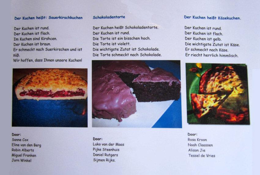 Kuchen, Kuchen und Kuchen. Alle rechten voorbehouden
