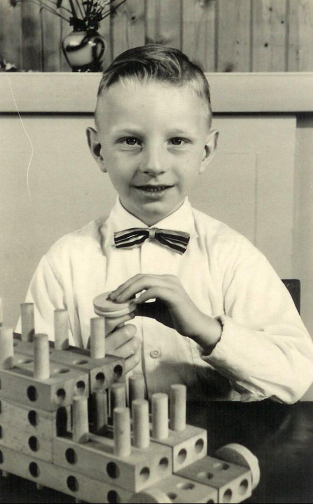 Hans op de kleuterschool - Foto: Hans Vervetjes - Alle rechten voorbehouden