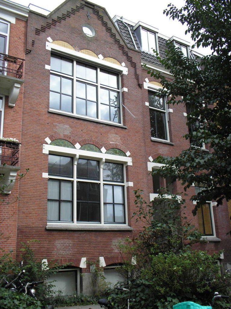 De christelijke school Linnaeusparkweg nr. 7, die later vervangen werd door de school op de Hogeweg. Alle rechten voorbehouden